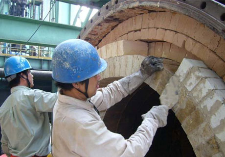 Qualified Refractory Lining In RS