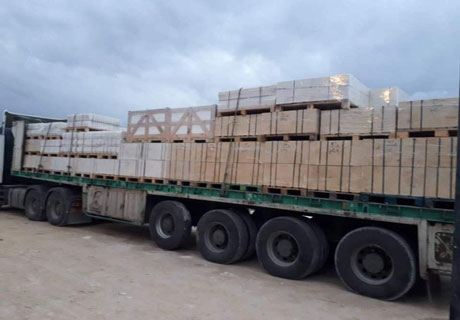 RS Refractories Shipment For Customers