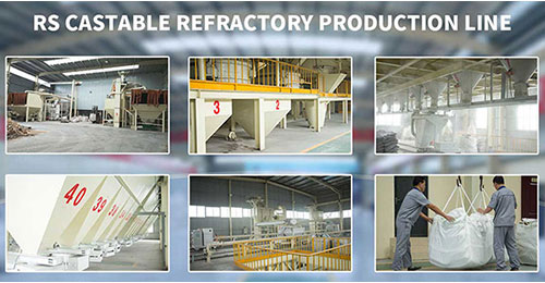 RS Monolithic Refractory Materials Factory
