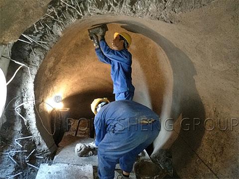 Figure Note 1: Kiln Lining Construction