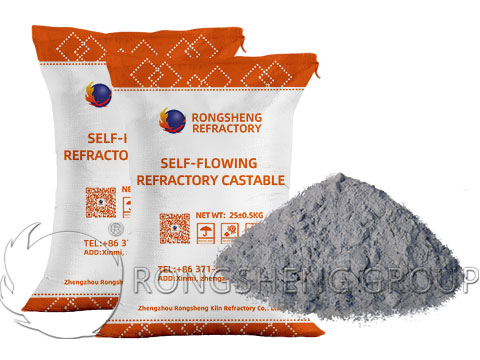 Self-Flowing Refractory Castable for Sale